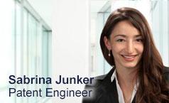 Sabrina Junker,  Dipl. Ing. (FH), Patent-Ingenieurin